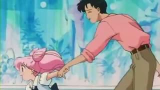 Sailor Moon-Serena y Rini se pelean a Darién y descubren a Mina coqueteando (cap 141)