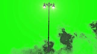 getlinkyoutube.com-Street Light and Mist - Green Screen Animation Footage