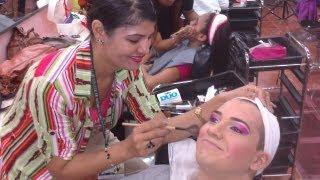 getlinkyoutube.com-Get Ready With Me: Boy to Girl Makeup Transformation Fantasy Queen of Hearts [Drag Queen]