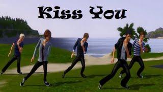 getlinkyoutube.com-Kiss You- One Direction (The Sims 3)