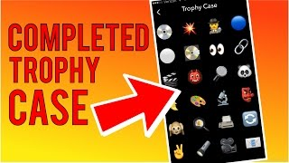 getlinkyoutube.com-How to Unlock all Snapchat Trophies | Completed Trophy Case - June 2016