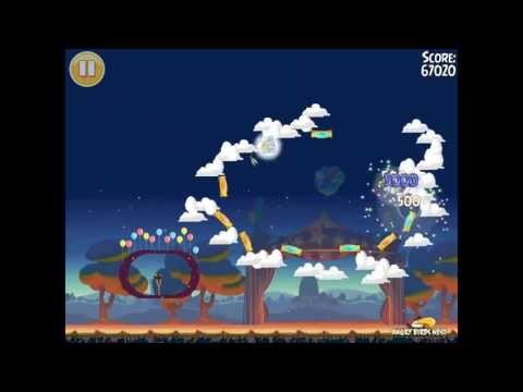Angry Birds Seasons Abra-ca-Bacon Golden Egg #44 Walkthrough