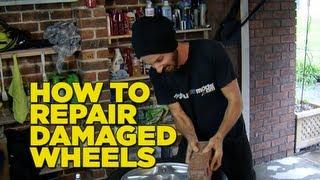 getlinkyoutube.com-How To Repair Scratched & Guttered Wheels