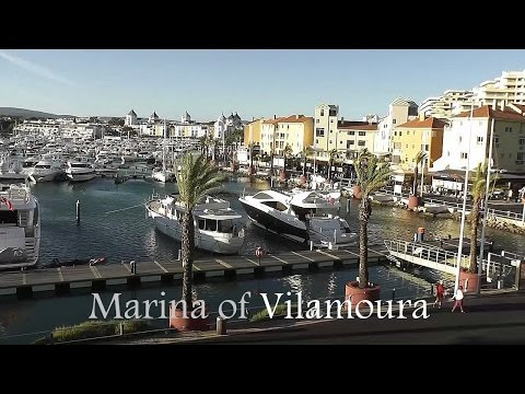ALGARVE: Marina of Vilamoura (Portugal) HD