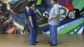 Basic Zydeco Dance Lesson - Part 1