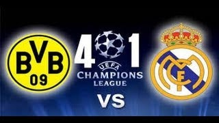 PARTIDAZO DEL SABADO: DORTMUND 4-1 REAL MADRID ( AUDIO COPE)