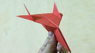 getlinkyoutube.com-Comment faire un avion en papier qui vole très bien et longtemps