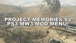 getlinkyoutube.com-Modern Warfare 3: Project Memories V2 [PS3 Mod Menu] w/Download