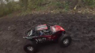 getlinkyoutube.com-Axial Yeti XL Monster Buggy crawling, hill climing, and high speed skidding.