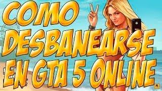 getlinkyoutube.com-Como Desbanearse en GTA 5 Online