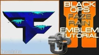 getlinkyoutube.com-Faze Rain Logo : Call of Duty Black Ops 2 Emblem Tutorial