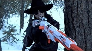 getlinkyoutube.com-The Great Nerf War: Lost in Frost
