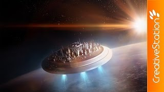 getlinkyoutube.com-Elevation  - 3D Speed art (#Blender, #Photoshop) | CreativeStation
