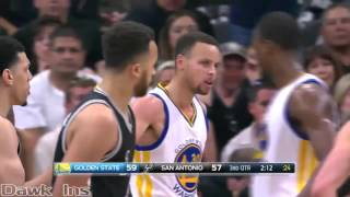 getlinkyoutube.com-Stephen Curry 37 points @ Spurs (Full Highlights) (2016 04 10) 72 WINS!