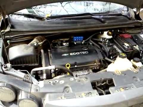 Работа двигателя на ГБО