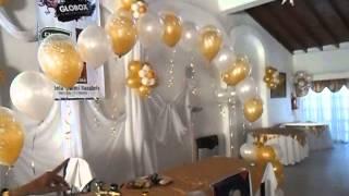 getlinkyoutube.com-DECORACION CON GLOBOS DORADO Y BLANCO EN CASAMIENTO POR LA PROFESORA GRACIELA NOEMI SANABRIA   707 E