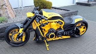 getlinkyoutube.com-Harley Davidson V Rod custom - muscle, touring, bagger, street