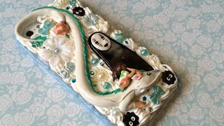 getlinkyoutube.com-Spirited Away Decoden Phone Case