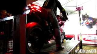 getlinkyoutube.com-Ducati 1199 Panigale S Top Speed - 358km/h on dyno! Mandi MotoFest 2012
