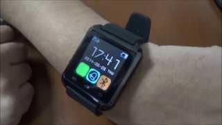 getlinkyoutube.com-Smart Watch U8 Bluetooth, Reloj digital para celulares!