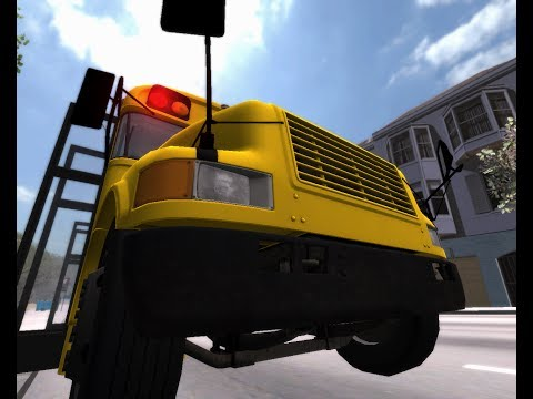 Simulador de Ônibus Urbano: Bus & Cable Car Simulator -- San Francisco School Bus - Ônibus Escolar
