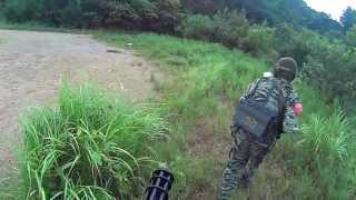 getlinkyoutube.com-だらず弾 ターミネーター戦(ミニガン装備) 2013.8/25