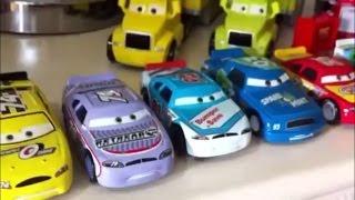 getlinkyoutube.com-Disney cars speedway racers and haulers