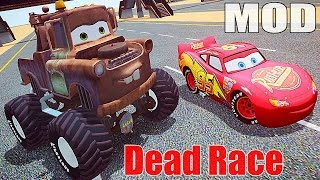 getlinkyoutube.com-Grand Theft Auto IV - Funny Video Gameplay - Monsters Tow Mater Truck CARS GTA IV Mods