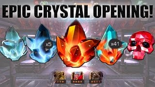 getlinkyoutube.com-Marvel Contest of Champions | EPIC 250 CRYSTALS OPENING!