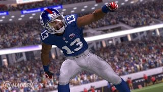 getlinkyoutube.com-Can Odell Beckham Jr Do a 99 Yard QB Scramble and Take it to the House!? Madden Gameplay