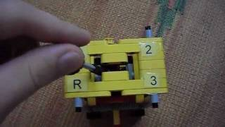 getlinkyoutube.com-LEGO gearbox 3+R with manual control By Jaco4