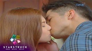 Arra San Agustin and Aljur Abrenica on StarStruck Kiss Flicks