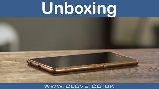 getlinkyoutube.com-Sony Xperia Z3+ Unboxing