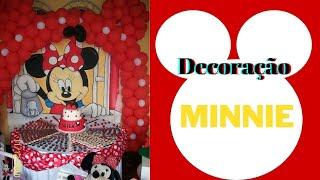 getlinkyoutube.com-Aniversário decoração Minnie...Luíza 3 aninhos.