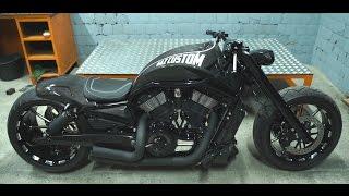 getlinkyoutube.com-Карбоновый Harley-Davidson VRSCAW кастом байк от компании ГАЗкастом