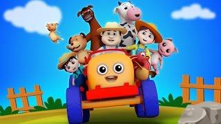 getlinkyoutube.com-Farmer In The Dell | Nursery Rhymes Farmees | Kids Songs | Baby Rhyme