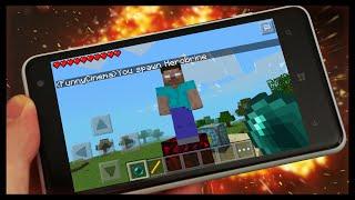 getlinkyoutube.com-Minecraft PE 0.15.0 SURVIVAL #15 QUAL A HISTORIA DO HEROBRINE? VOCÊ SABE??