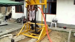 getlinkyoutube.com-Perforadora de Pozos Tubulares de Agua - PT-60