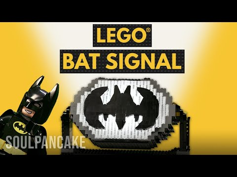 How to Build a LEGO Bat Signal | BRICK X BRICK