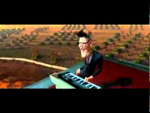 How to play the piano song from monsters vs aliens xbox