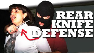 Knife Defense: How to Defend a Knife to the Throat