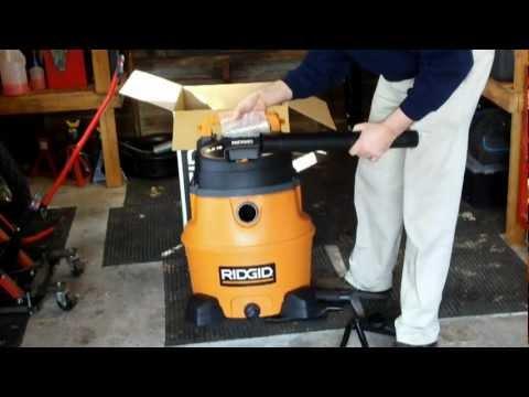 ridgid 16 gallon wet dry vac manual