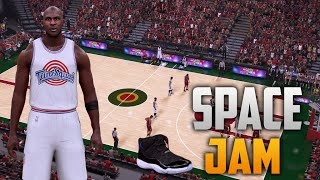 getlinkyoutube.com-NBA 2K16 Space Jam Court & Jersey Tutorial