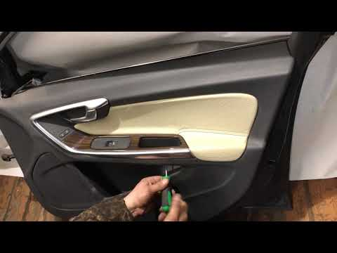 Volvo S60 2012 Разборка - снятие дверной карты