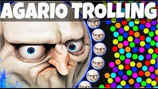 AGARIO Funny Moments | Trolling People In Agar.io #7