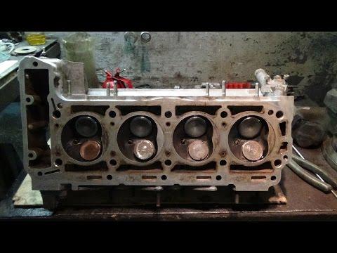 Ремонт двигателя М 102 на Мерседес 190,часть № 4 ГБЦ.