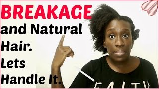 What Causes Natural Hair Breakage ( 4c 4b Hair )