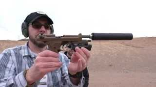 getlinkyoutube.com-Beretta M9A3 Suppressed: SHOT Show 2015