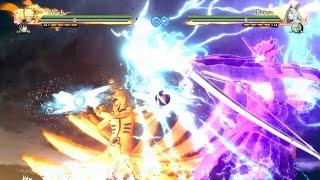 getlinkyoutube.com-Naruto Storm 4: Naruto and Sasuke Susanoo & Kurama Fusion Awakening x  Team Ultimate Jutsu