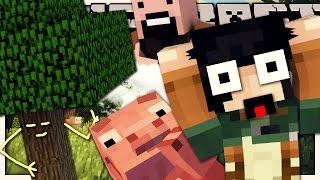 getlinkyoutube.com-SE NOTCH IMPEDISSE DI SPACCARE GLI ALBERI? - Minecraft IF
